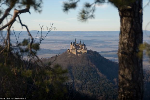 Burg Hohenzollern - Foto von Marcus Locher