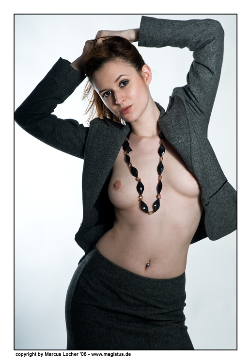 Sexy Business - Anna Model - by Marcus Locher - all rights reserved