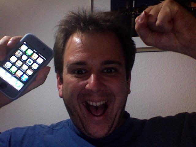 Ich habe mein iPhone !!!