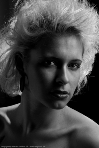 Black and White from Blue - By Marcus Locher