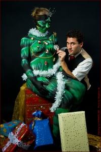 Weihnachtsbaum schmuecken