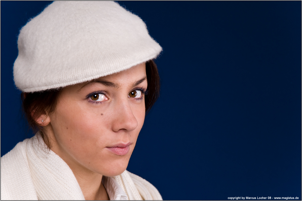 The Hat - Portrait by Marcus Locher