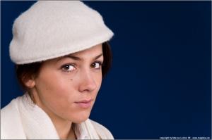 The Hat - Portrait