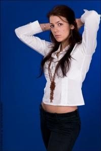 Posing in Blue - Fashion