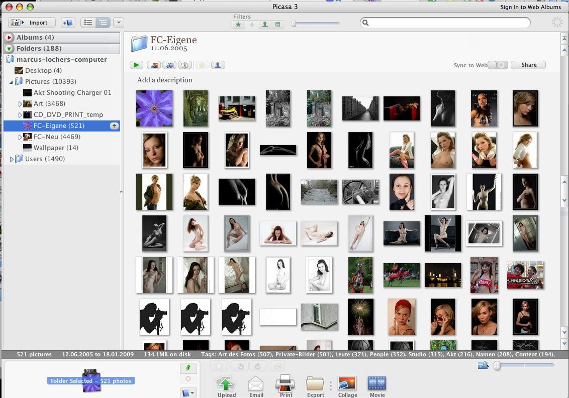 Picasa-Screenshot