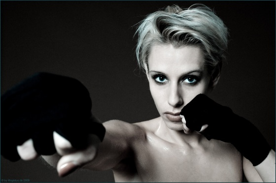 Free Fight - Close-Up Portrait