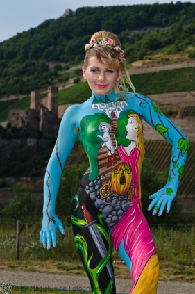Painting: Merlin1 & Ewelina Cariati -- Model: Tigermaus