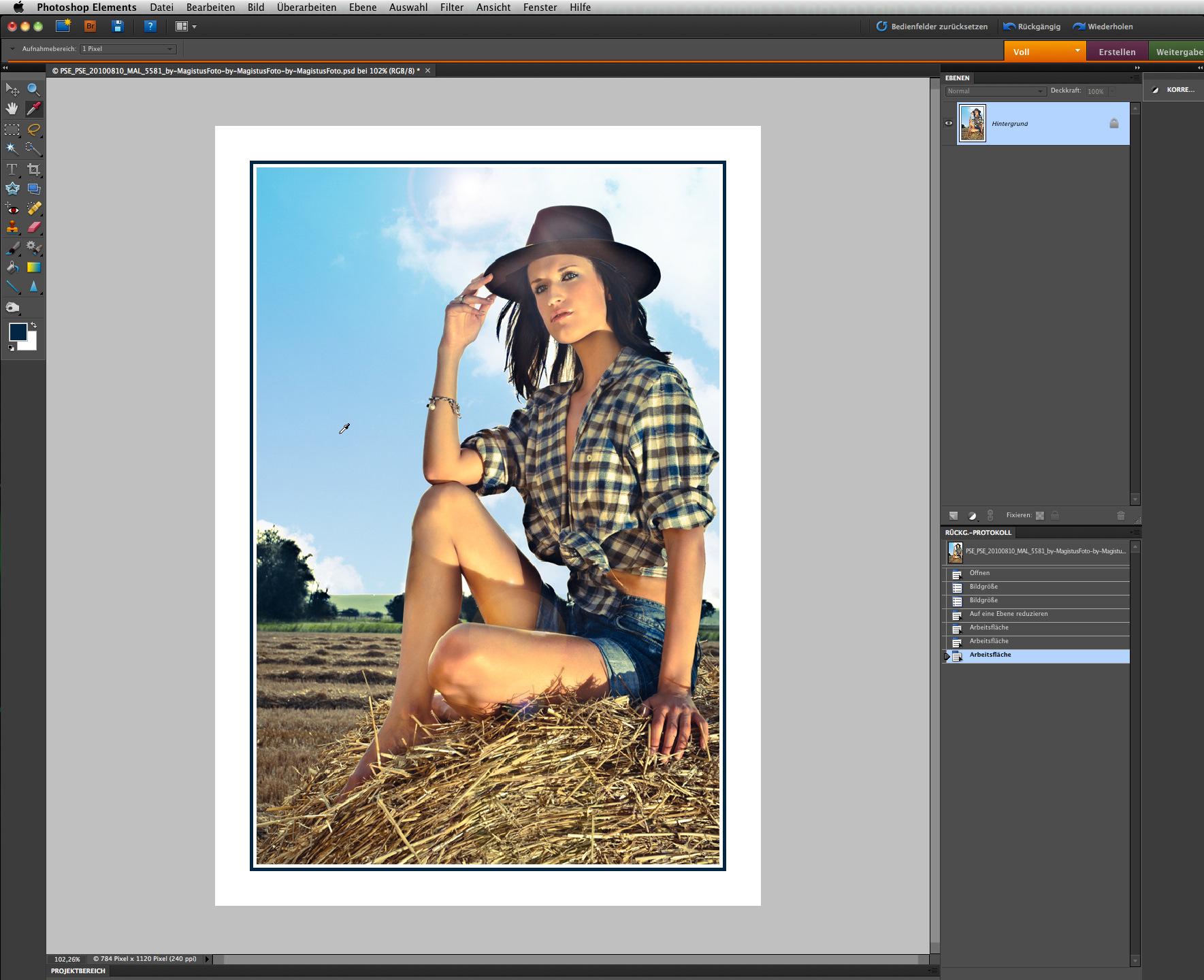 Tutorial: Schnell u. einfach Rahmen erstellen mit Photoshop ...