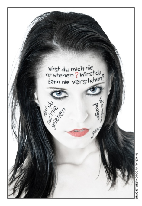 Painting: Rames - Photo: Magistus - Lyrics: Diary of Dreams
