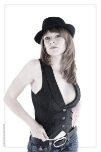 Black Hat - Portrait © by Magistus