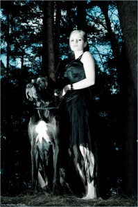 Lady with Dog - © by Magistus