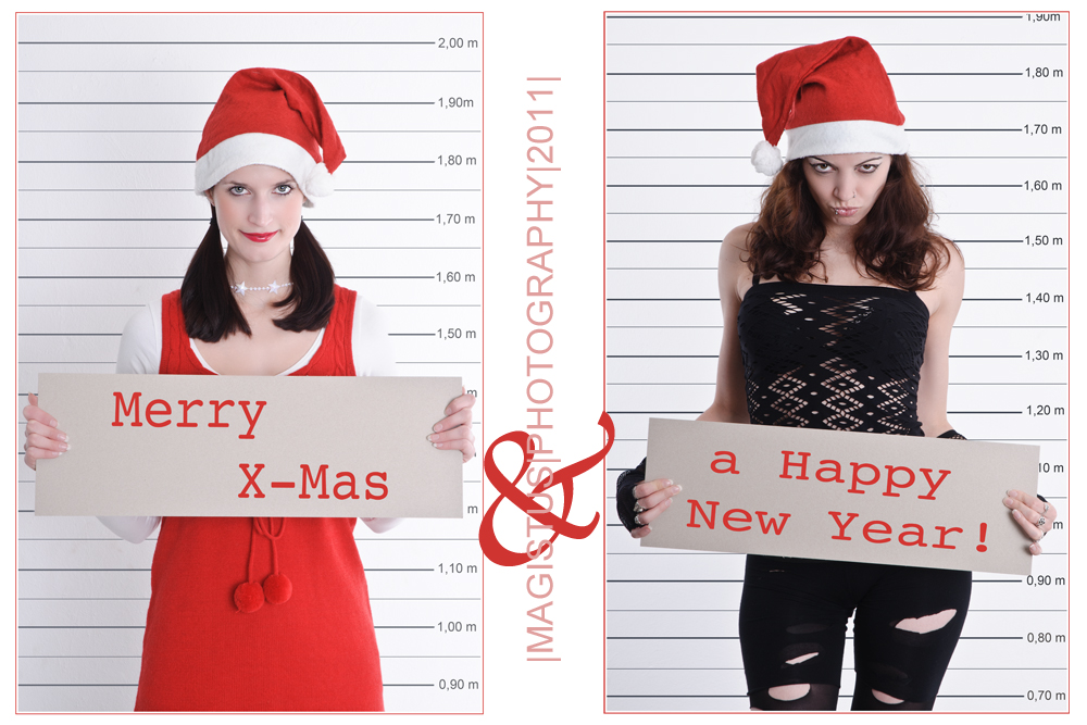 Merry X-Mas & a Happy New Year - © by Magistus