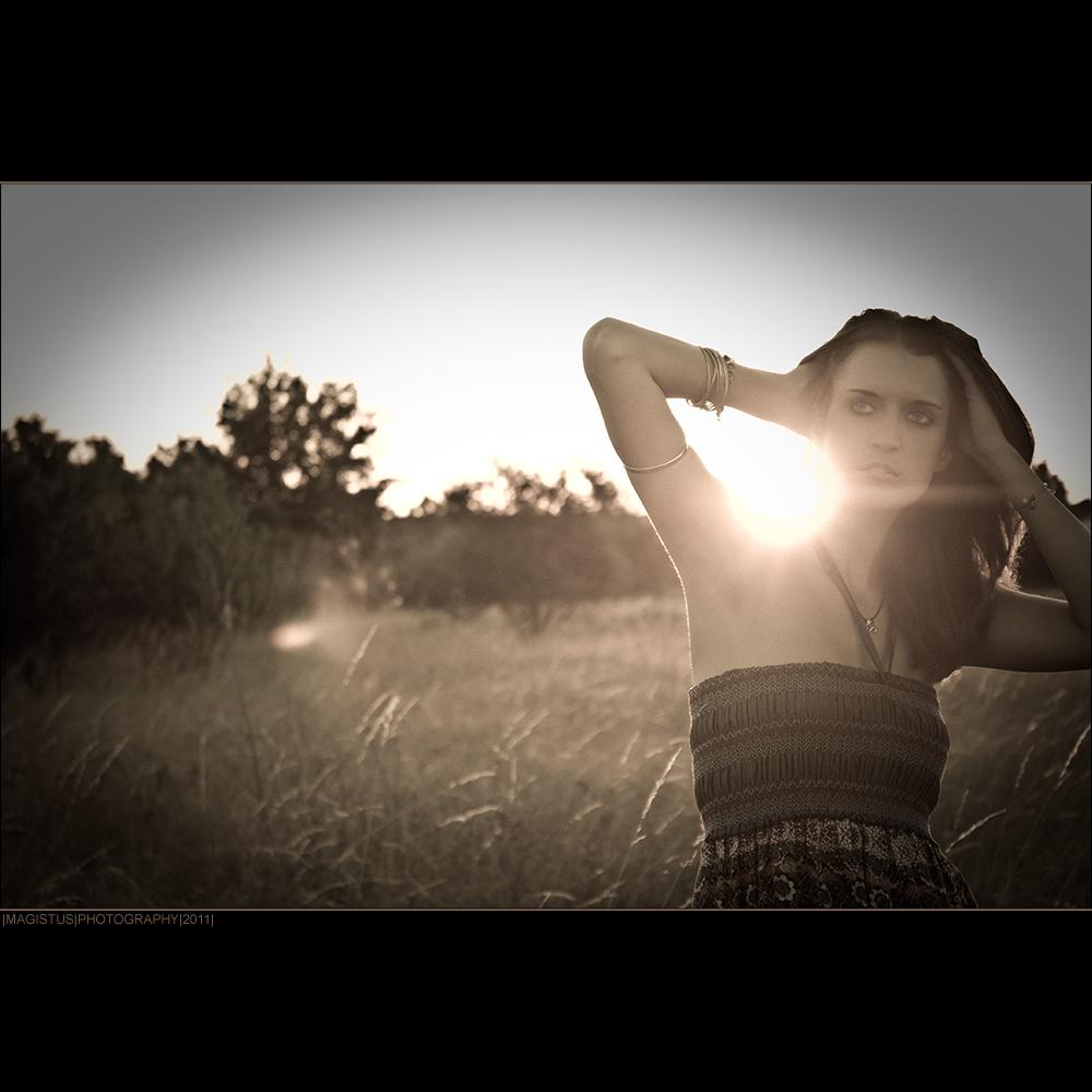 Summer 2011 - Outdoor Portrait © by Magistus