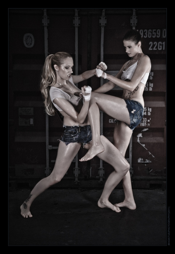 Fighter Girls - Erotic Photography © by Magistus