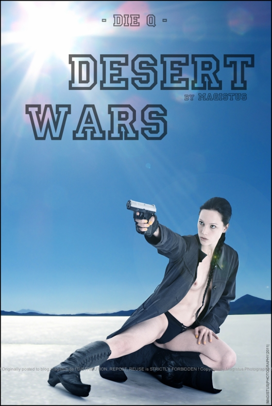 Desert Wars - Erotic Art © by Magistus