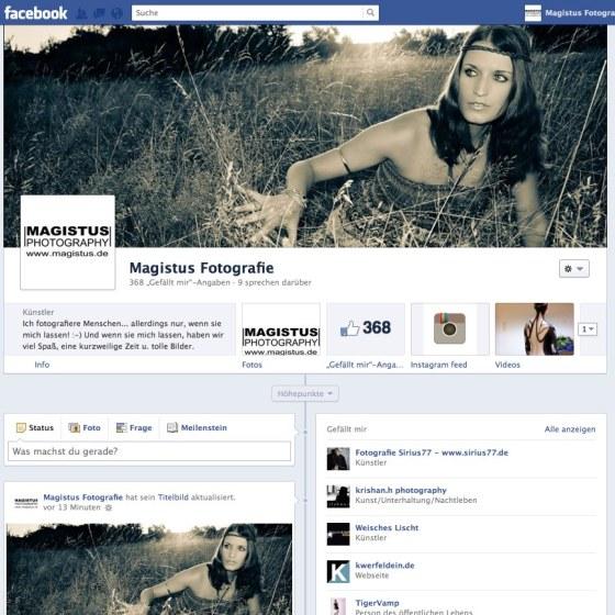 Magistus Fotografie - Facebook-Page