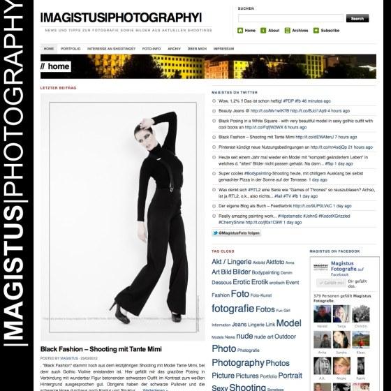 Screenshot - Blog Magistus.de