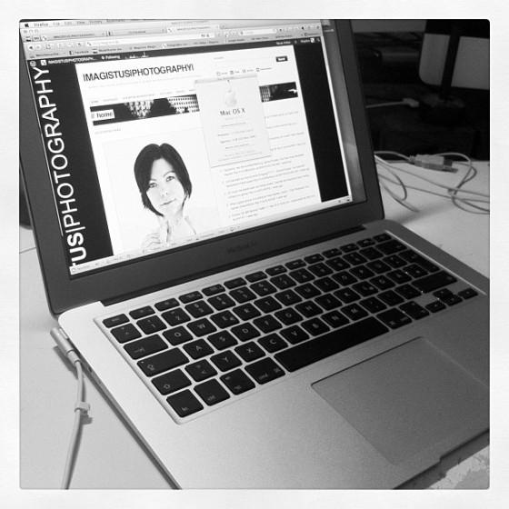 My new MacBook Air - Instagram Picture