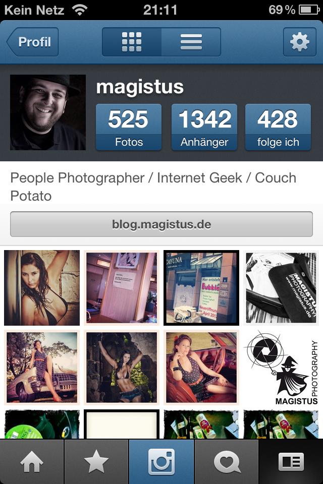 Instagram - iPhone App Screenshot