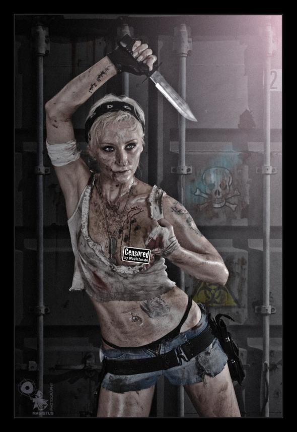 Bio Hazard - Censored Girlfight Version - © by Magistus