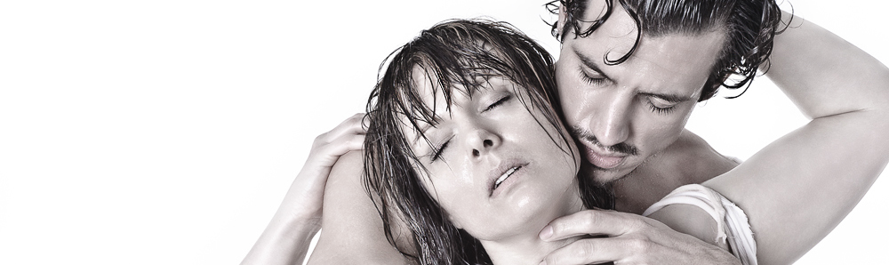 Hot Love - Erotic Boy-Girl Photoshooting with models in a love fight and wet look - realy sexy and very hot - © by Magistus