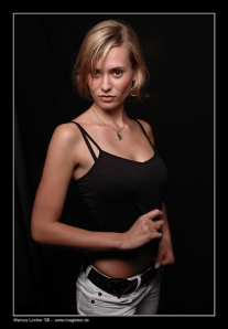 Angela - First Studio Picture - © by Magistus 2006
