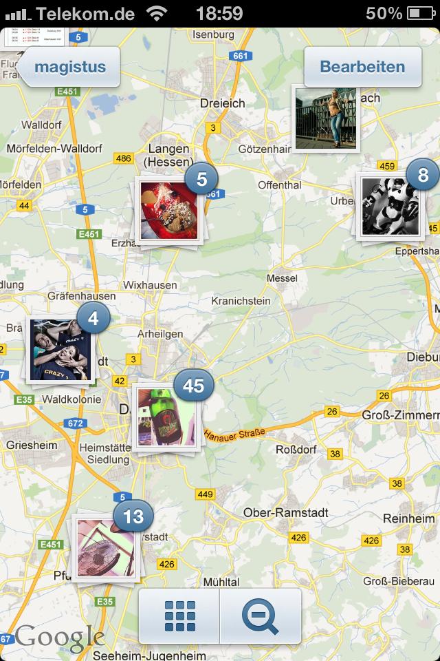 Instagram 3.0 - Photo Map - Screenshot