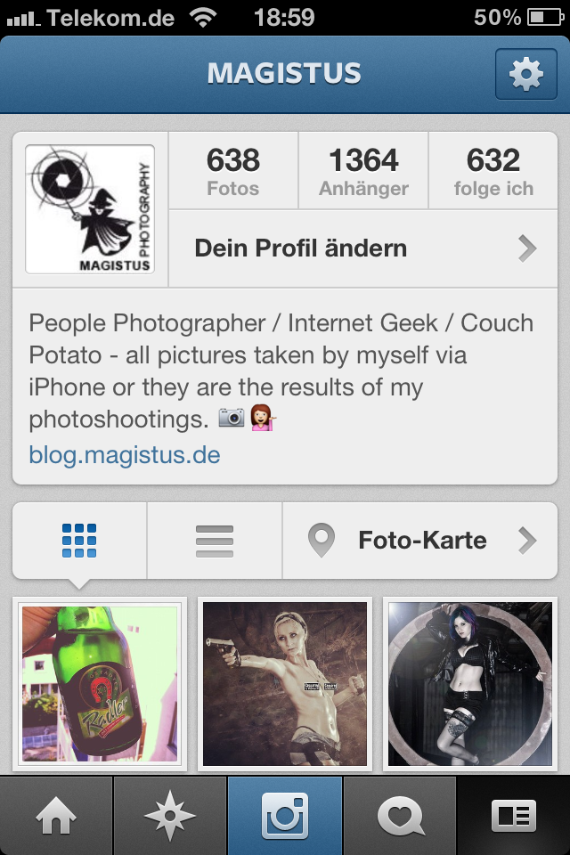 Instagram 3.0 - New Profile - Screenshot