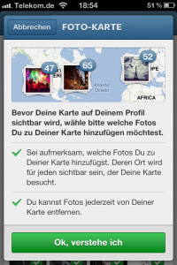 Instagram 3.0 - Photo Map Bilder-Selection - Screenshot