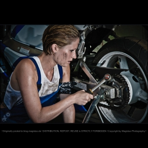Bike Mechanic - © by Magistus (click on image for full-size)