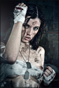 Fighting Girly - Erotic Dirtylook Portrait - © by Magistus