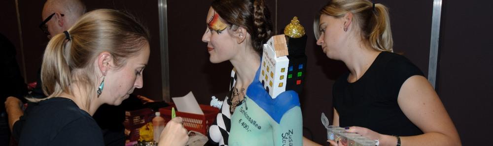 Video Maskerade Bodypainting Festival 2012 - feat. Phoenix Body Art - HEADER