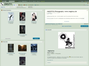 Screenshot - Magistus bei DeviantArt