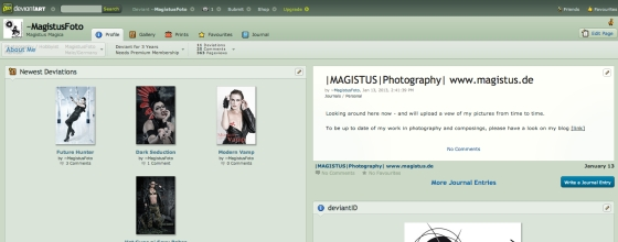 Screenshot - Magistus bei DeviantArt
