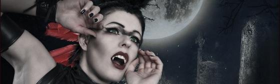 Moon Worship - Dark Fantasy Vampire Composing - Composing © by Magistus - Background by *E-dina - DeviantArt: http://fav.me/d4sb7q8