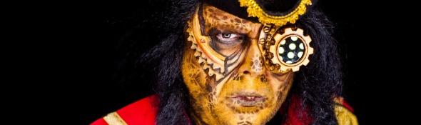 Alien Magistus - Facepainting with Farbtraeume.com & PORTRAIT-BU.DE