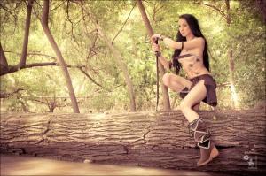 Warrior Princess - Erotic Art Amazon Outdoor Photoshoot - © by MagistusFoto