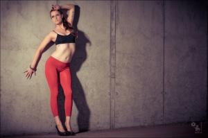 The Wall - Sports Fashion Portrait Shooting onLocation - © by MagistusFoto