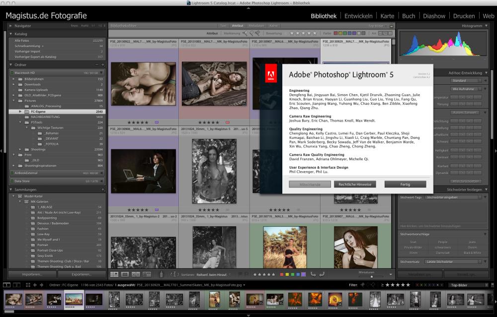 Lightroom 5 - Screenshot