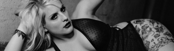 Black Lingerie - Analog Photography by Magistus