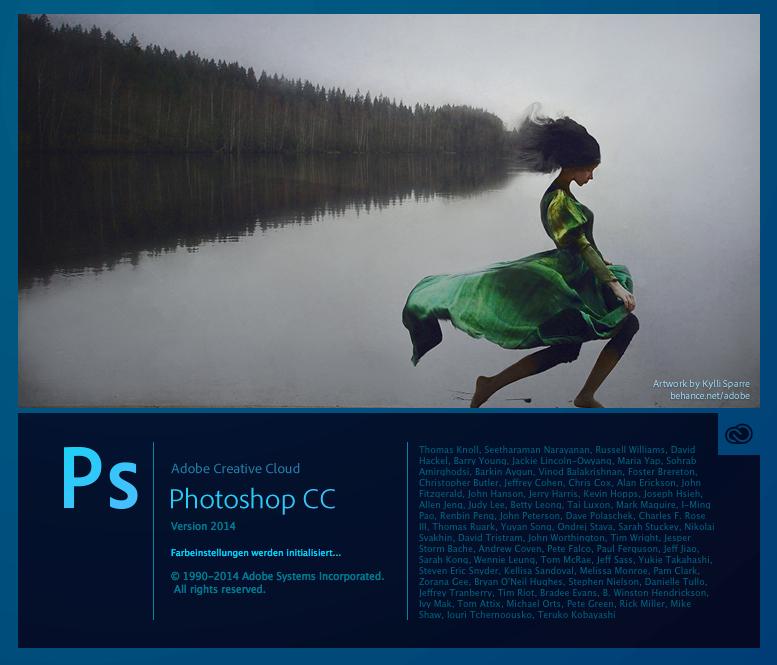 Update Adobe Photoshop CC 2014