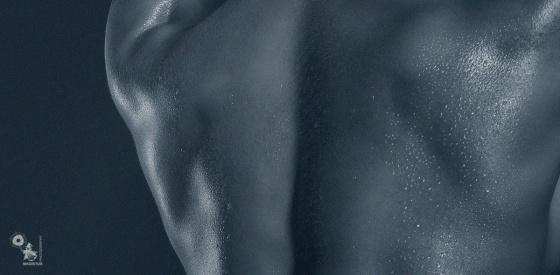 Athletic Body - Wetlook Lowkey Nude Art - © by Magistus