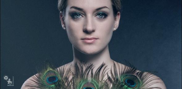 Feathers N Beauty - Beauty Portrait - © by Magistus - H&M by KaRi