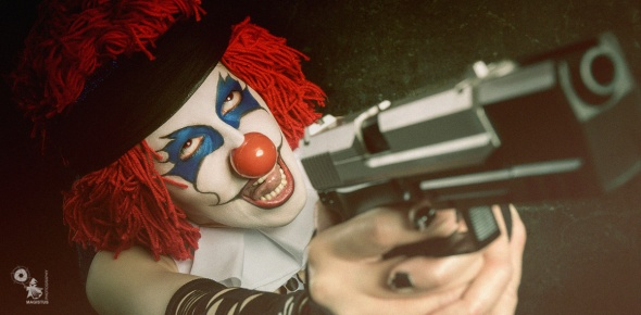 Crazy Evil - Horror Clown Photoshoot - © by Magistus