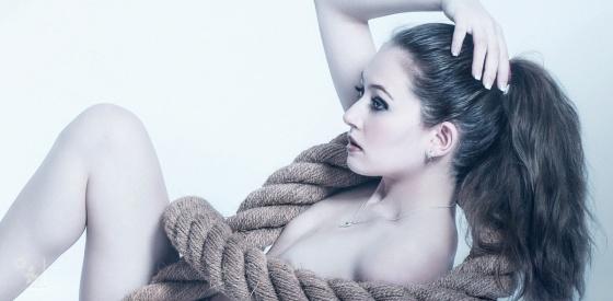 Naked Rope - Nude Art Photoshoot - © by Magistus