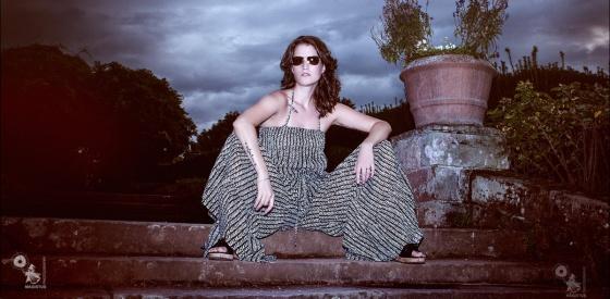 Summet Sunser - Fashion Portrait Rosenhöhe Darmstadt - © by MagistusFoto
