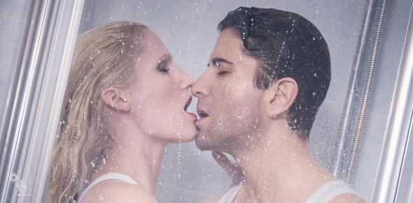 Shower Love - Super Sexy Wetlook Boy-Girl Portrait in the Shower - © by Magistus