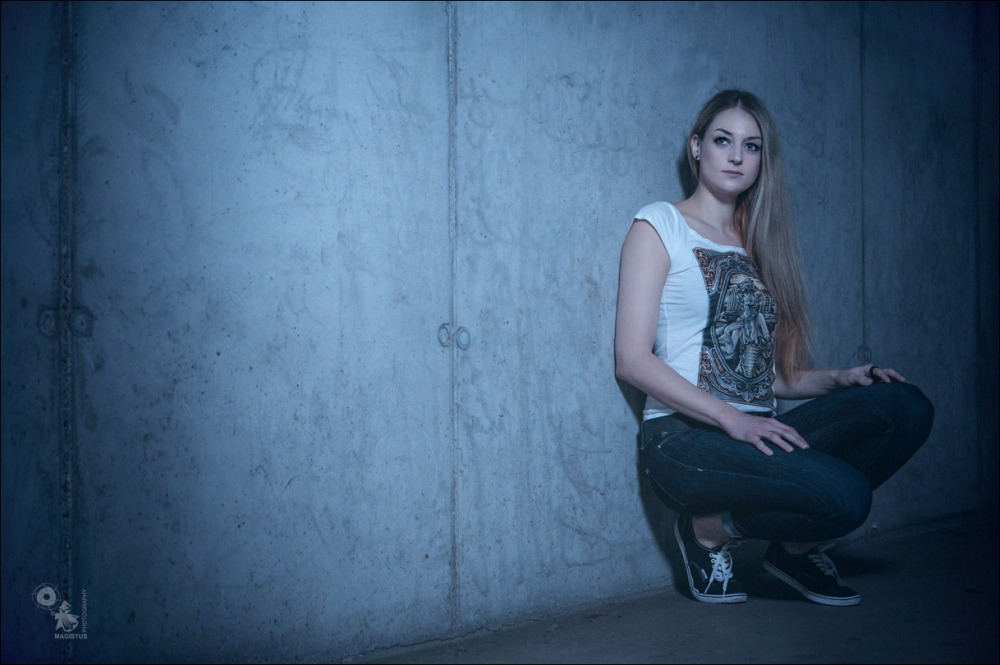 Cold Wall - Portrait Photoshoot on Location -  © by Magistus