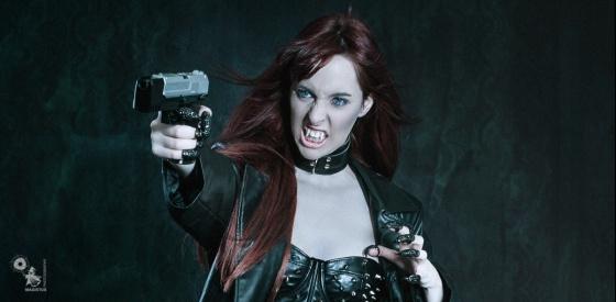 Vampire Warrior - Fightergirl Fantasy Composing - © by Magistus