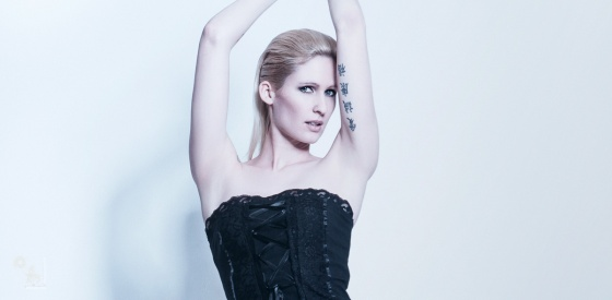 Fashion Stripes - Sexy Leggins Fashion Portrait - © by Magistus